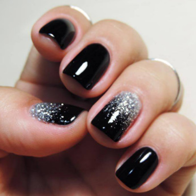 black-gel-polish-glasgow