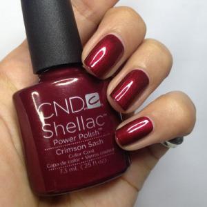 Crimson Sash Shellac