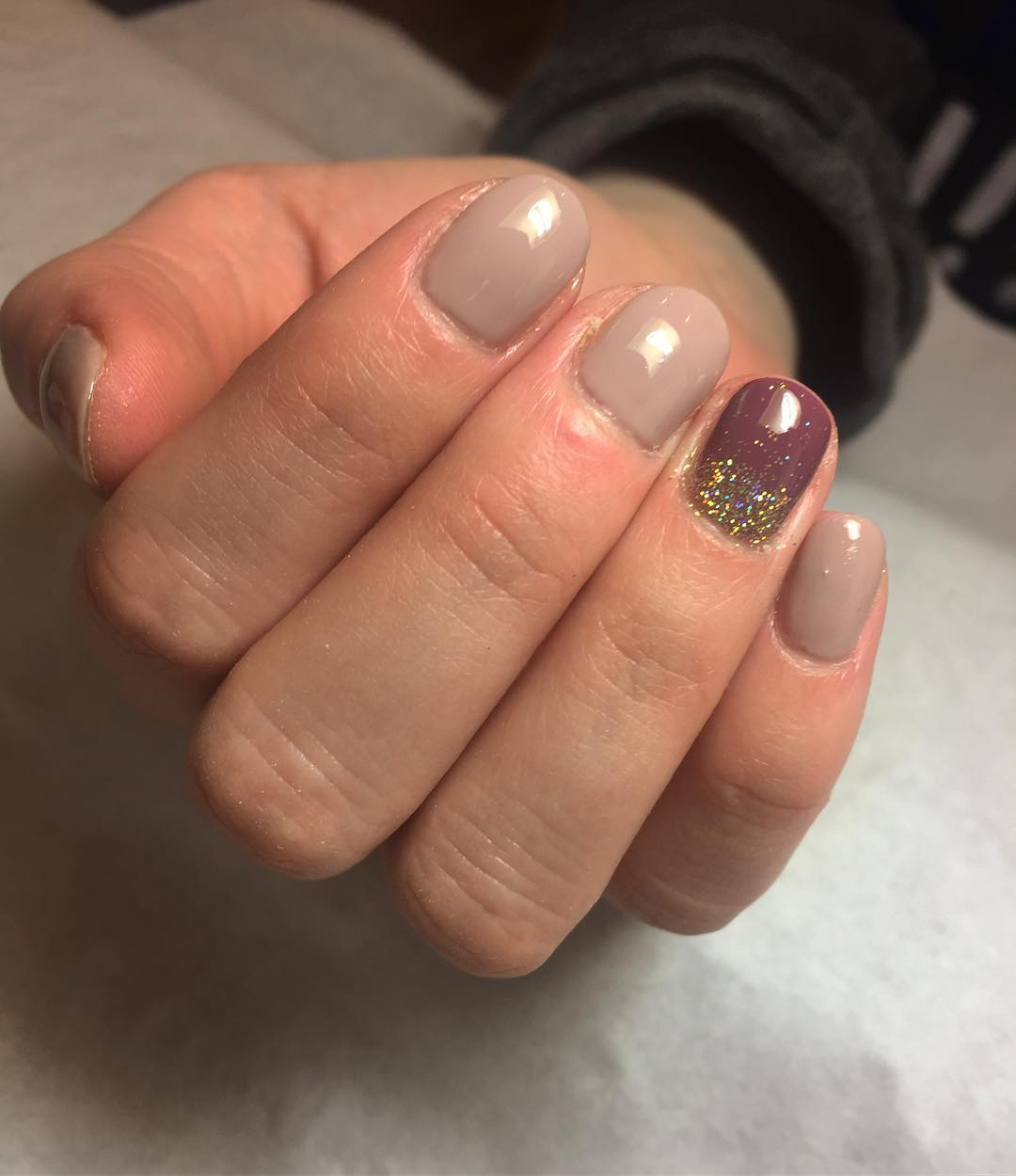 nude shellac nails glasgow city centre
