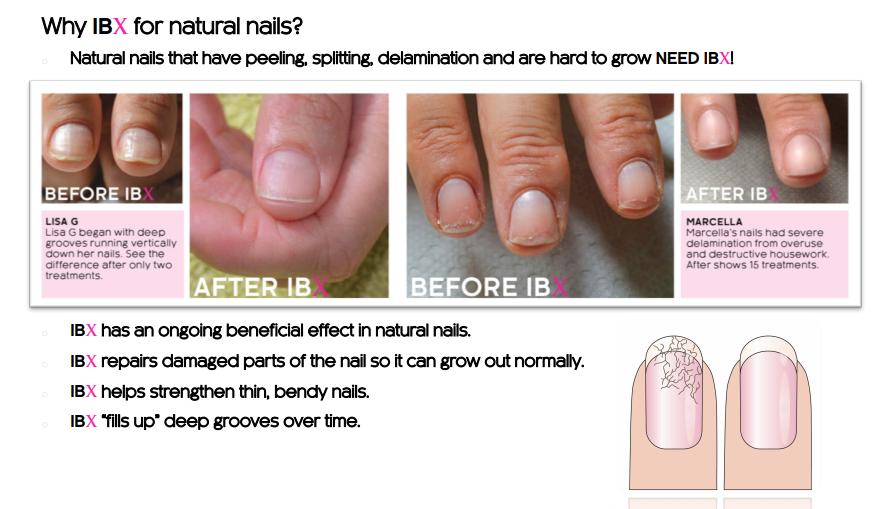 IBX Nail Treatment | Strengthen Brittle Nails | Glasgow Salon